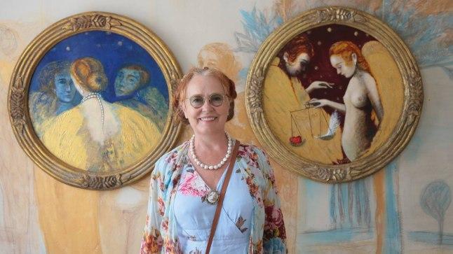 """""""Viiekümnele lähenedes mõtlesin, et kui ma nüüd oma galeriid ei tee, siis ei juhtu seda kunagi,"""" räägib Epp Maria, kuidas algas unistuse elluviimine."""