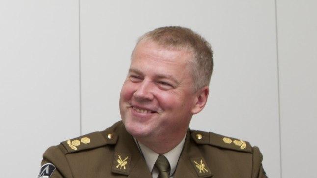 Kaitseväe erioperatsioonide üksuse ülem kolonel Riho Ühtegi