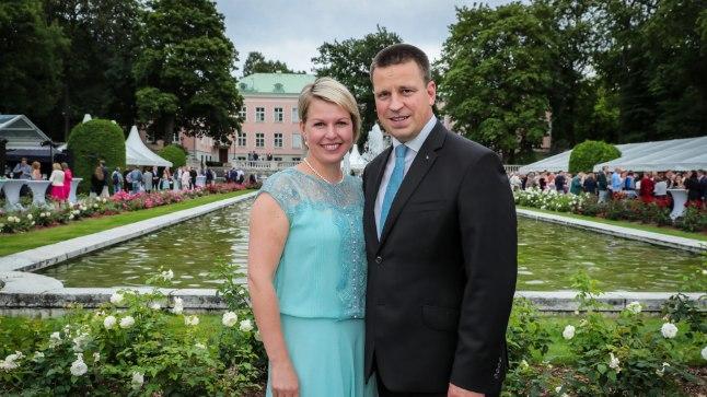 Peaminister Jüri Ratas koos abikaasa Karin Ratasega