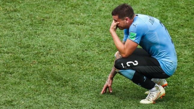 ALLAANDJA VÕI VÕITLEJA? Hingega asja juures olnud uruguaylane hakkas nutma juba viis minutit enne kohtumise lõppu.