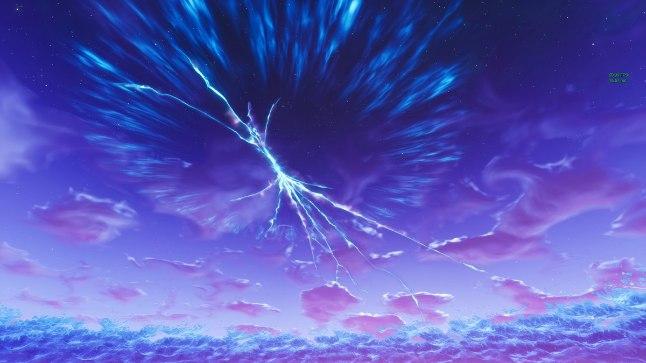 MAAILM ON KATKI! Fortnite'i kaart on pidevas muutumises, viimati tekkis taevasse lõhe.