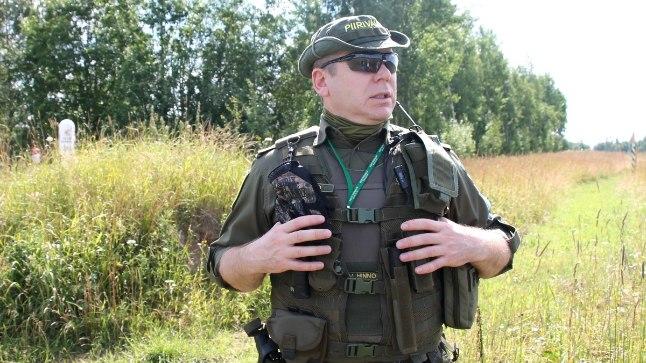 SURVE VÕIB KASVADA: Piusa kordoni juht Valmar Hinno sõnas, et surve piirile võib seoses Venemaal toimuva jalgpalli MMiga kasvada, sest seda väisavad inimesed võivad proovida tulla illegaalselt Euroopasse.