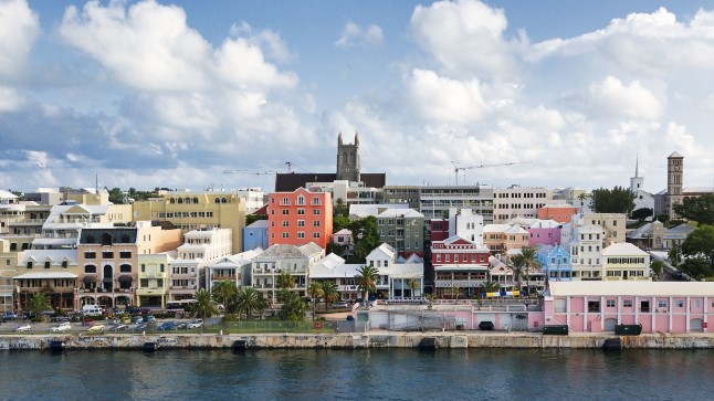 Bermuda pealinn Hamilton.