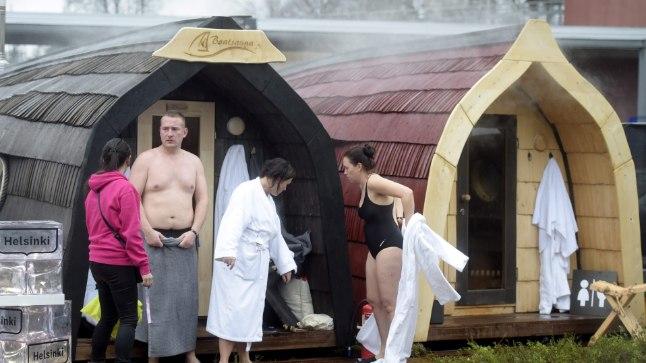 Eestlaste saun Slushil