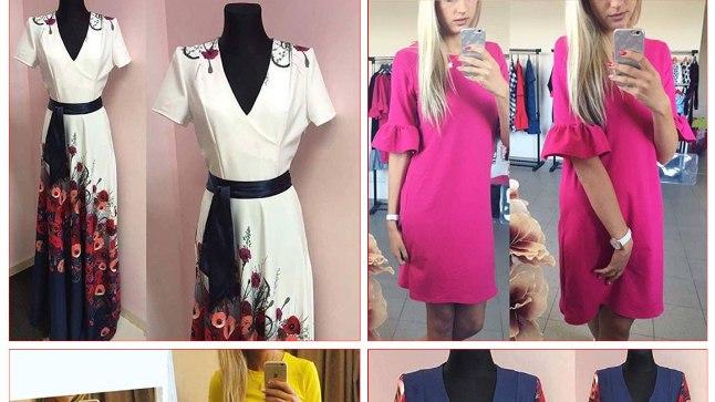 Näited kleitidest, millega müüja endale huvilisi võitis.