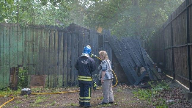 Põleng Viljandis