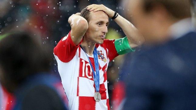 """Luka Modric finaalmängu oma peas läbi ketramas: """"Mida oleks saanud teisiti teha?""""."""