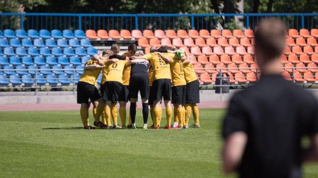 NAPIKAS! Pärnu Vaprus alistas rahvaliiga meeskonna 90+5. minuti väravast