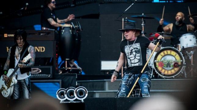 MINETATUD HIILGUS: Leidub neid, kes leiavad, et Axl Rose on kaotanud oma seksapiili ja lauluhääle.