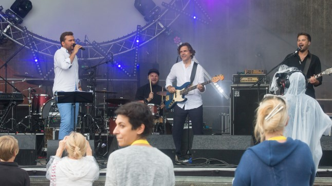 Koit Toome ja Radar esinesid Baltic Sun festivalil.