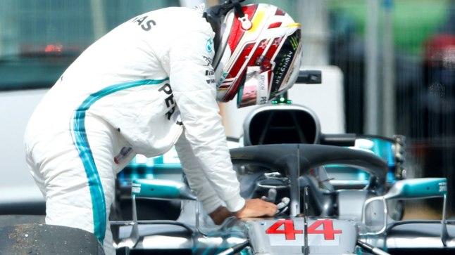Pettunud Lewis Hamilton.