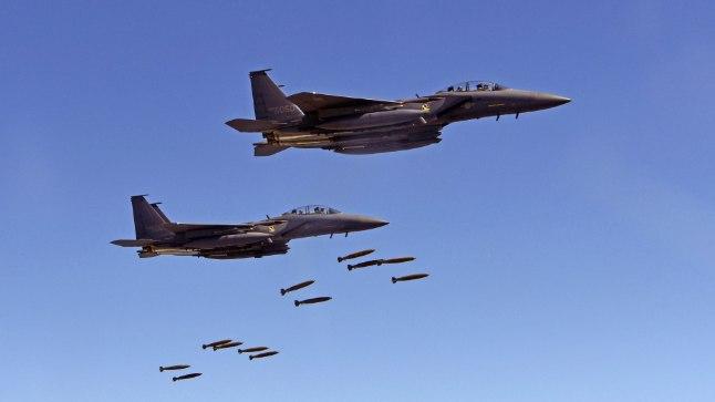 USA pommituslennukid. Foto on illustreeriv.