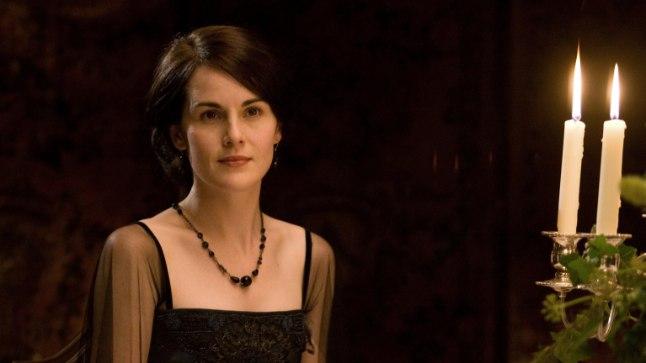"Michelle Dockery on ""Downton Abbeys"" tuntud Lady Maryna."