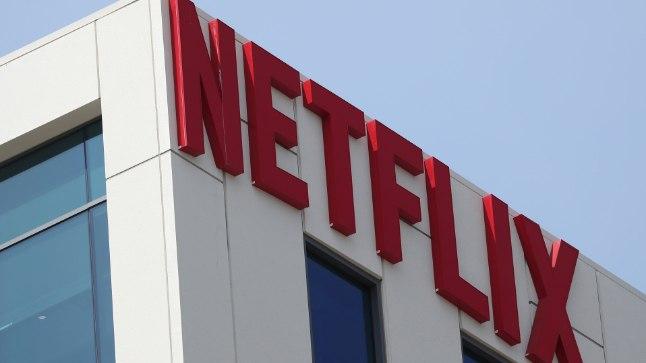 Netflixi logo firma Los Angelese kontoris.