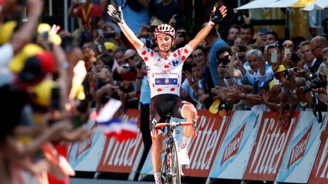 Julian Alaphilippe võitis tuuril juba teise etapi.