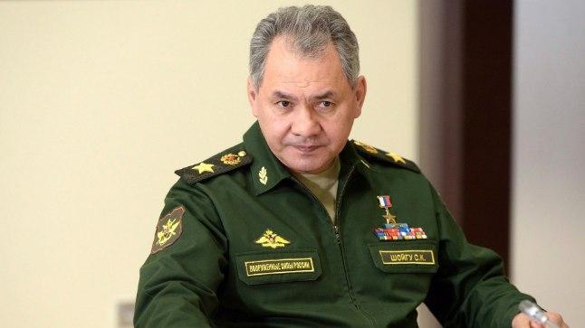 Venemaa kaitseminister Sergei Šoigu.