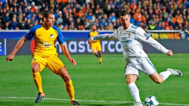 Mullu mängis APOEL (kollases) teiste seas ka Madridi Reali vastu.
