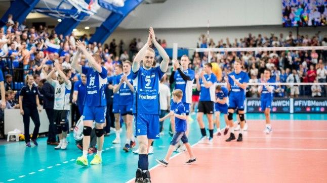 Võrkpall kuulub Eesti kõige popimate spordialade sekka.