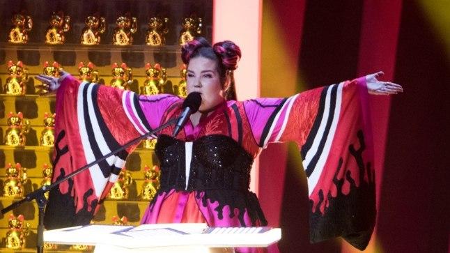 Tänavuse Eurovisioni võitja Netta.