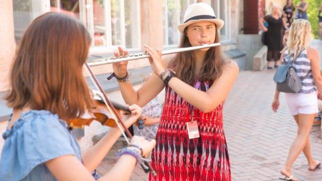 Viljandi folgil saab muusikat nautida ka väljaspool lavasid