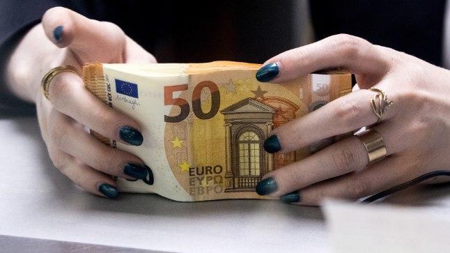 Eurorahatähed. Pilt on illustratiivne.