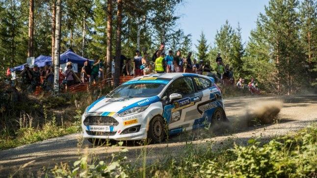 Ken Torn ja Kuldar Sikk Soome MM-rallil.