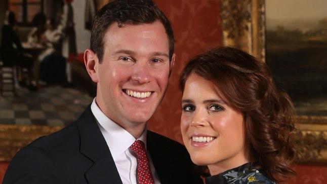 Printsess Eugenie ja Jack Brooksbank.
