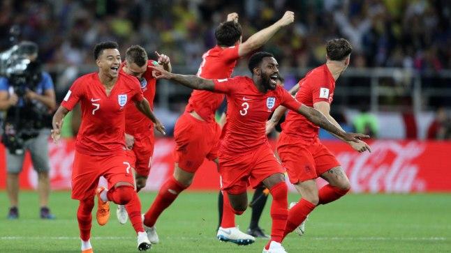 Inglaste siiras rõõm, kui Jordan Pickford kolumblase Carlos Bacca penalti tõrjus.