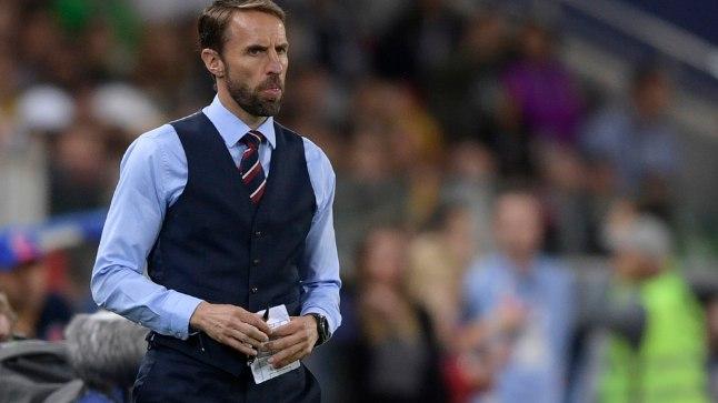 Inglismaa koondise peatreener Gareth Southgate.
