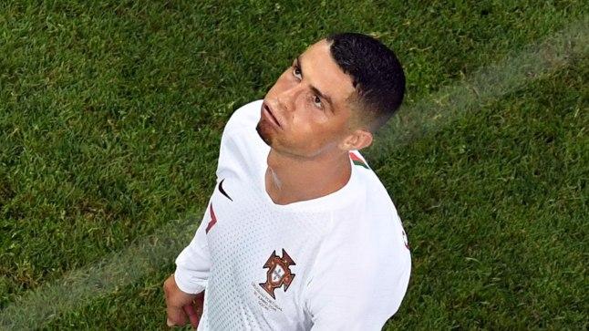 Portugallane Cristiano Ronaldo lõi küll alagrupimängudes neli väravat, kuid jäi kaheksandikfinaali kohtumises Uruguayga märkamatuks.