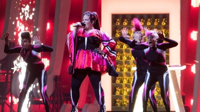 """Eurovision 2018, Iisreali esindas Netta looga """"Toy""""."""