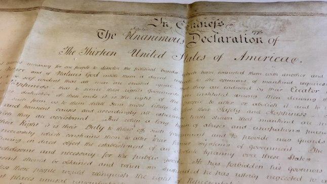 USA iseseisvusdeklaratsioon.