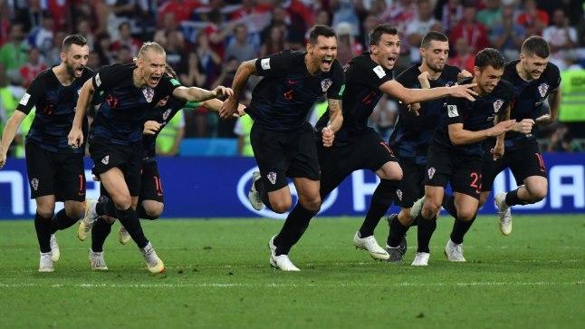Horvaatia võidupidu.