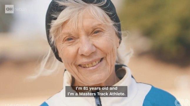 81-aastane jooksja Jeanne Daprano lubab, et parim on veel ees.