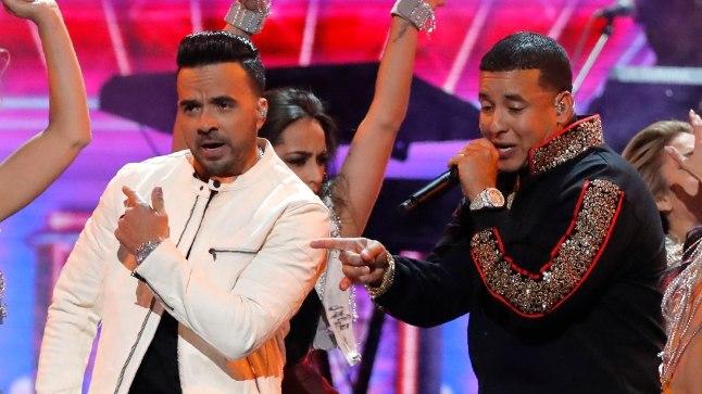 Luis Fonsi (vasakul) ja Daddy Yankee