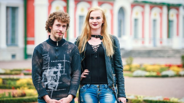 Kalvi-Kalle ja Helen mullu sügisel, kui nende suhted polnud veel nii teravad