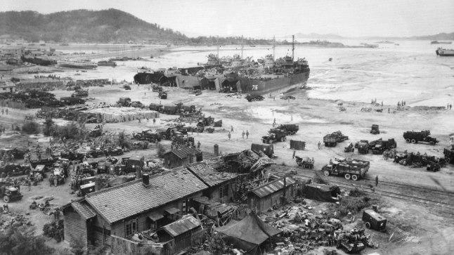 Pärast Teist maailmasõda arvasid paljud sõjastrateegid, et ründav vägi peab vaenlase omast olema kolm korda suurem. MacArthur vilistas selle peale.
