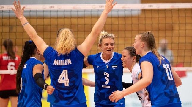Eesti naiskond loodab põhjanaabrid alistada.