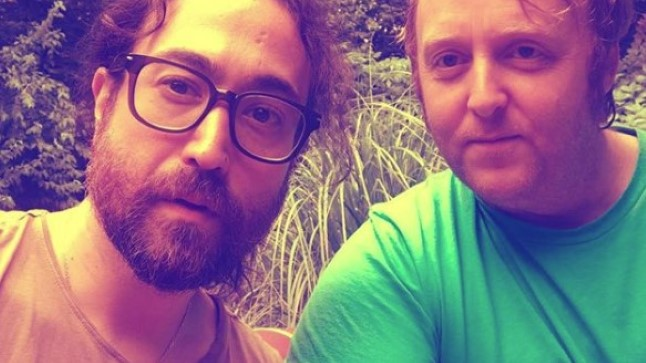 Sean Ono Lennon ja James McCartney