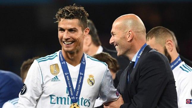 Reali kolme viimase hooaja edu peaarhitektid, peatreener Zinedine Zidane (paremal) ja mängija Cristiano Ronaldo on meeskonnast lahkunud.