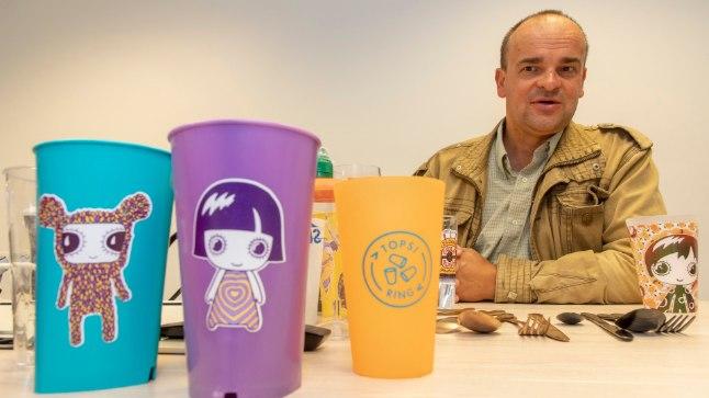 Topsiringi lustakad joogitopsid aitavad juba lastes kujundada maailmavaadet, et iga uus jook ei vaja uut joogitopsi, tõdeb Aivo Kangus.