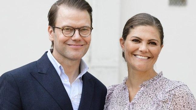 Rootsi prints Daniel ja kroonpritsess Victoria.