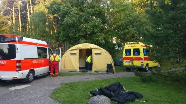 ESMAABI! Weekendi esimesel päeval on juba paarkümmend inimest arstiabi vajanud