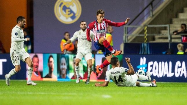 Ajalooline õhtu Lillekülas: Madridi Atletico alistas 4:2 linnarivaali Reali.