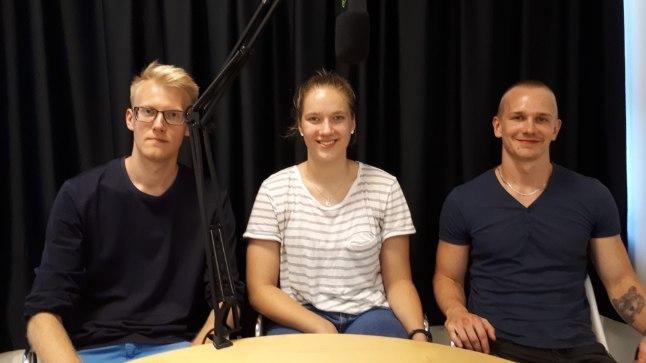 Vasakult: Ats Kuldkepp, Kadri-Ann Lass, Jarmo Jagomägi.