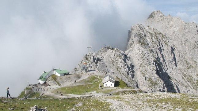 AlpideNordkette ahelik Innsbrucki kõrval.