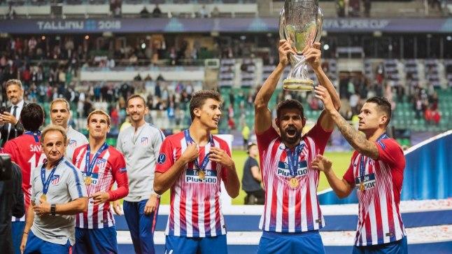 Superkarika võitnud Madridi Atletico.