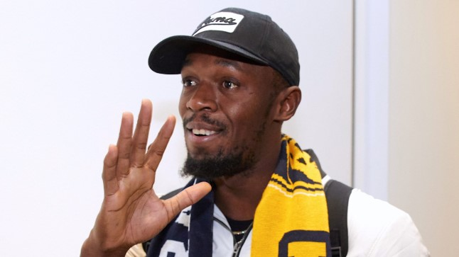 Usain Bolt on valmis treeningutega alustama.
