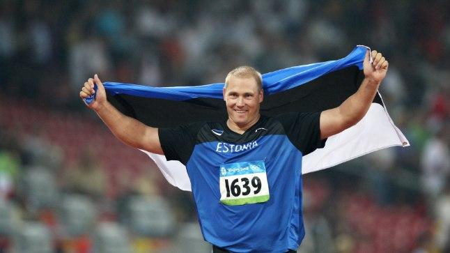 Gerd Kanter Pekingi olümpial.