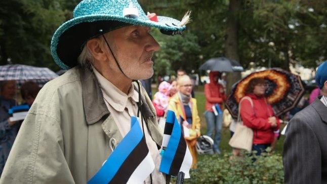 Eesti Vabariigi taasiseseisvumise 27. aastapäeva tähistamine Tartus